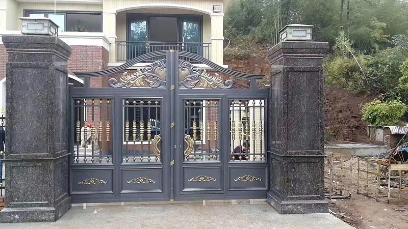 别墅庭院门做什么样的好