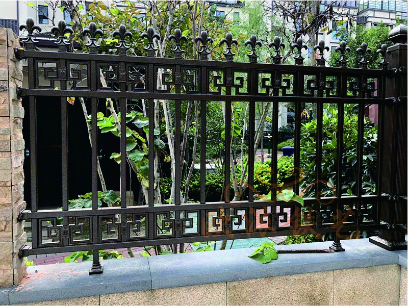 高端定制铝艺围栏