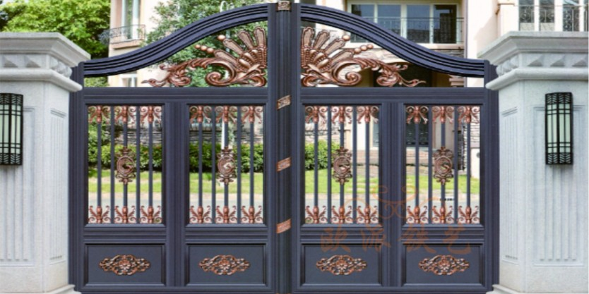 铝艺大门的优势与特色