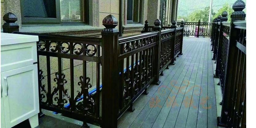 欧派铁艺浅析铝艺阳台护栏在阳台上的安全性