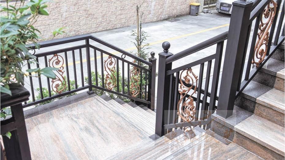 铝艺楼梯扶手8041