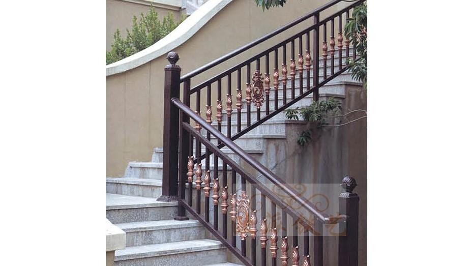 铝艺楼梯扶手8042