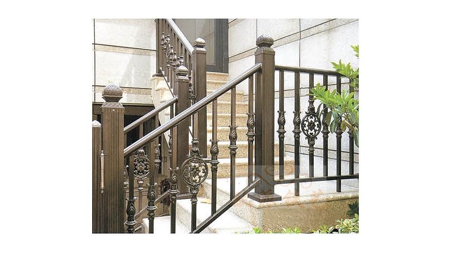 铝艺楼梯扶手8046