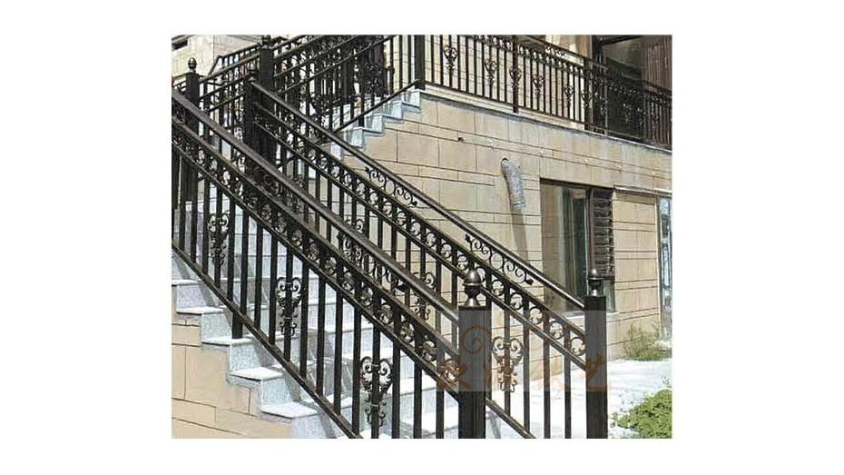 铝艺楼梯扶手8047
