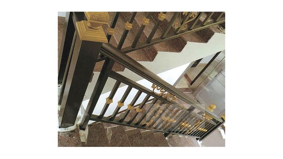 铝艺楼梯扶手8049