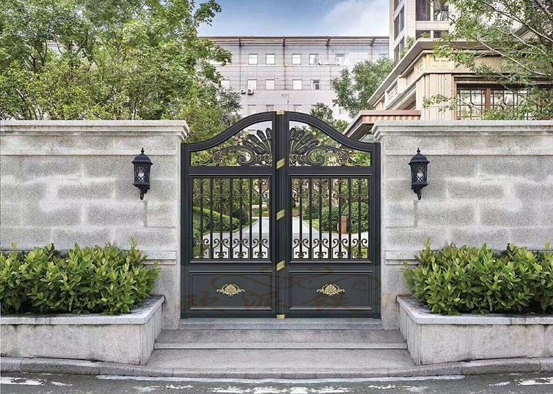 铝艺别墅庭院门安装注意事项