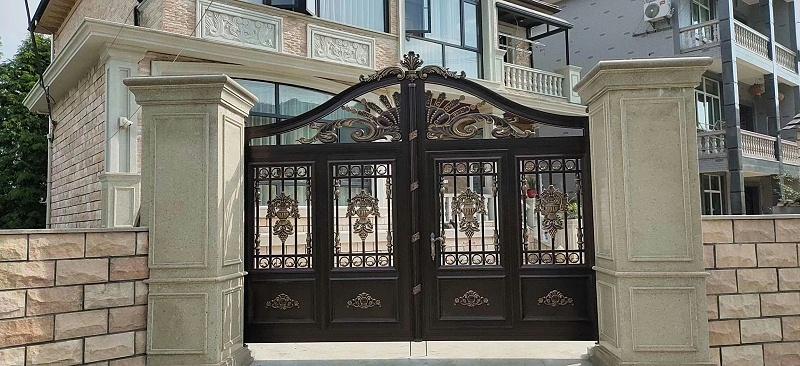 安徽别墅庭院门又一新秀