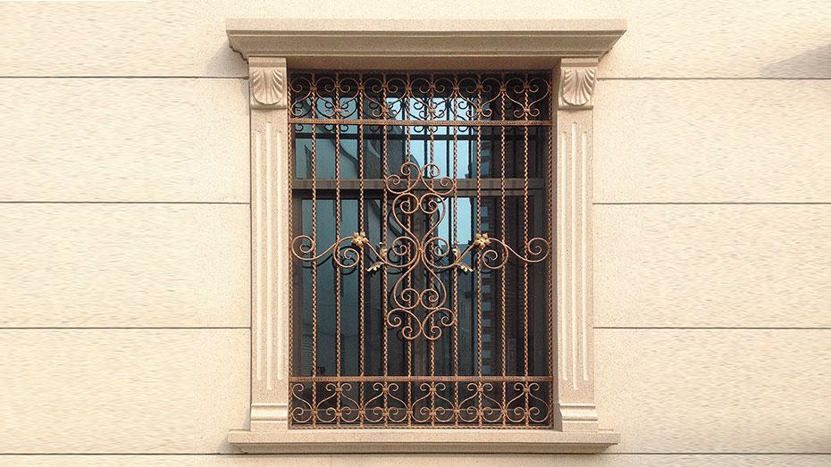 铁艺护窗OP-E007