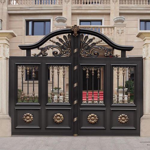 铝艺铝艺别墅门吸引人的地方别墅门吸引人的地方
