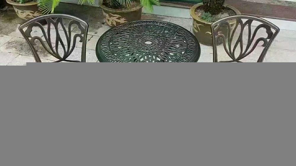 铸铝桌椅001