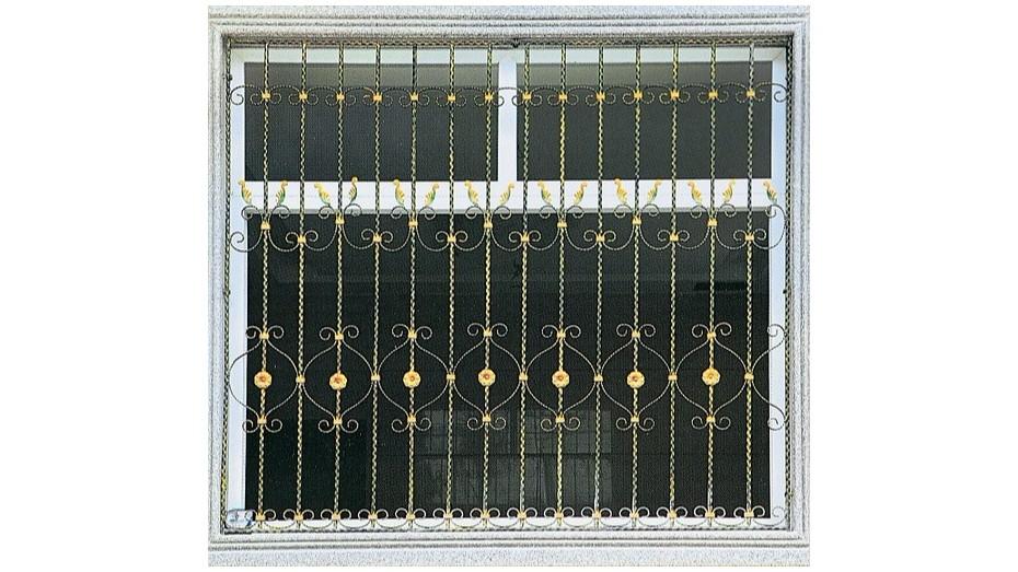 铁艺护窗OP-E001