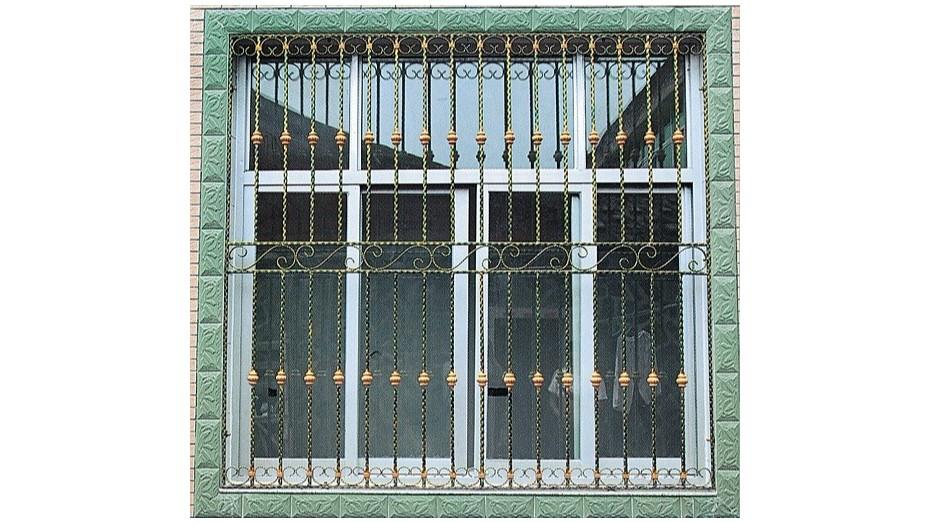 铁艺护窗OP-E003