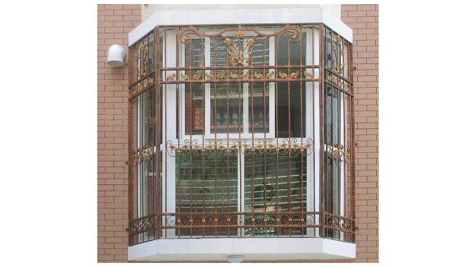 铁艺护窗OP-E005