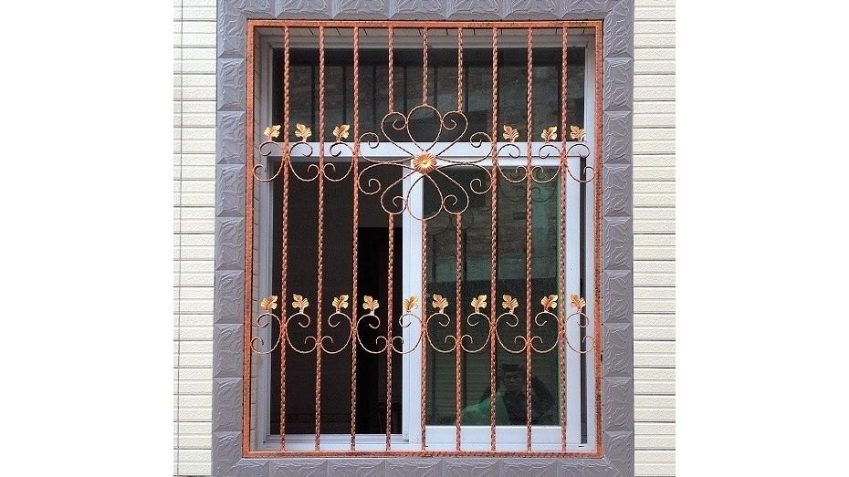 铁艺护窗OP-E006