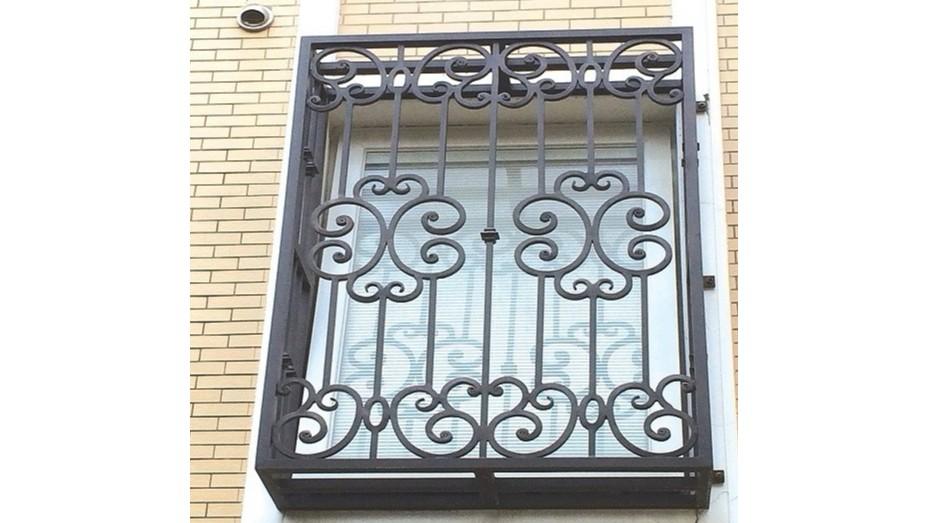 铁艺护窗OP-E008