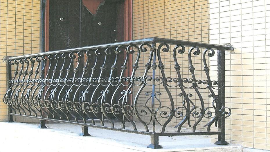 铁艺护栏OP-D002