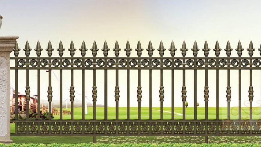 不锈钢烤漆围栏8016
