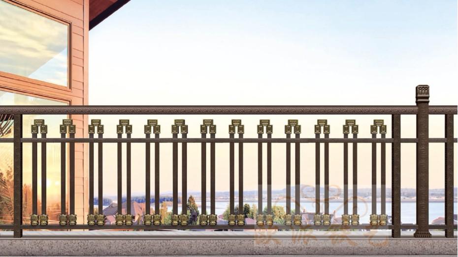 不锈钢烤漆护栏8017