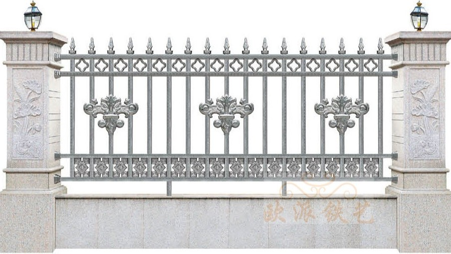 不锈钢烤漆围栏8012