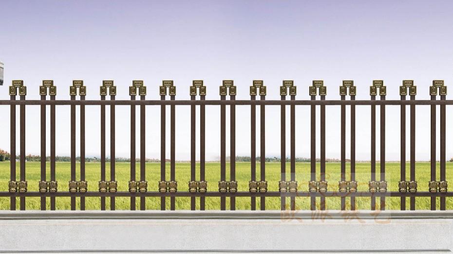 不锈钢烤漆围栏8014