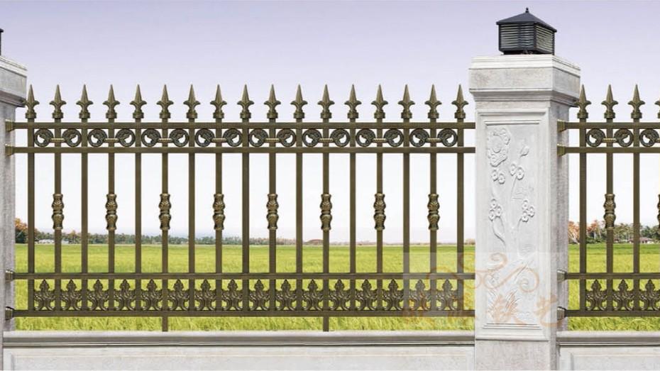 不锈钢烤漆围栏8015