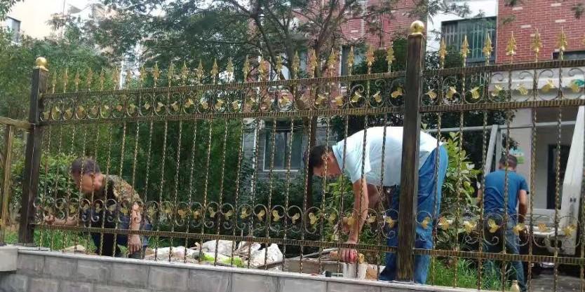 别墅铁艺围栏、扶手