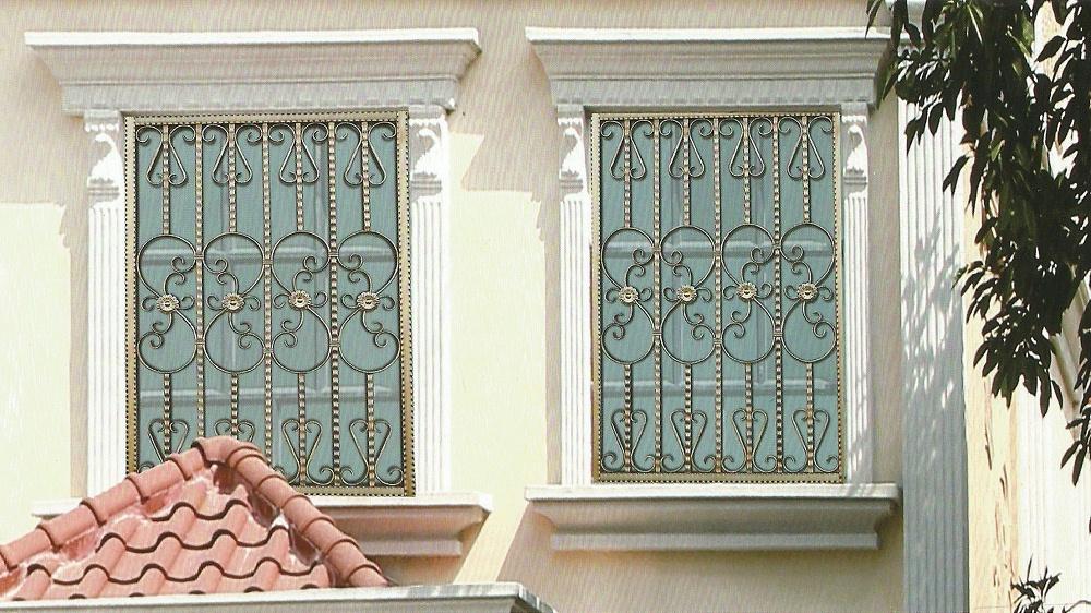 不锈钢护窗OP-F029