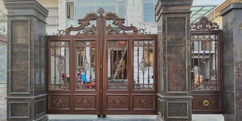 铝艺豪华庭院门