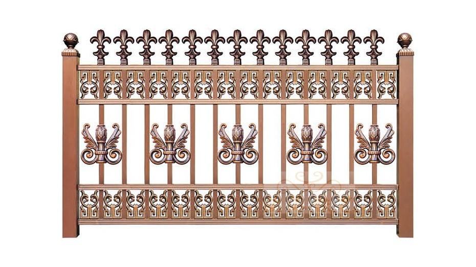锌钢烤漆围栏8014