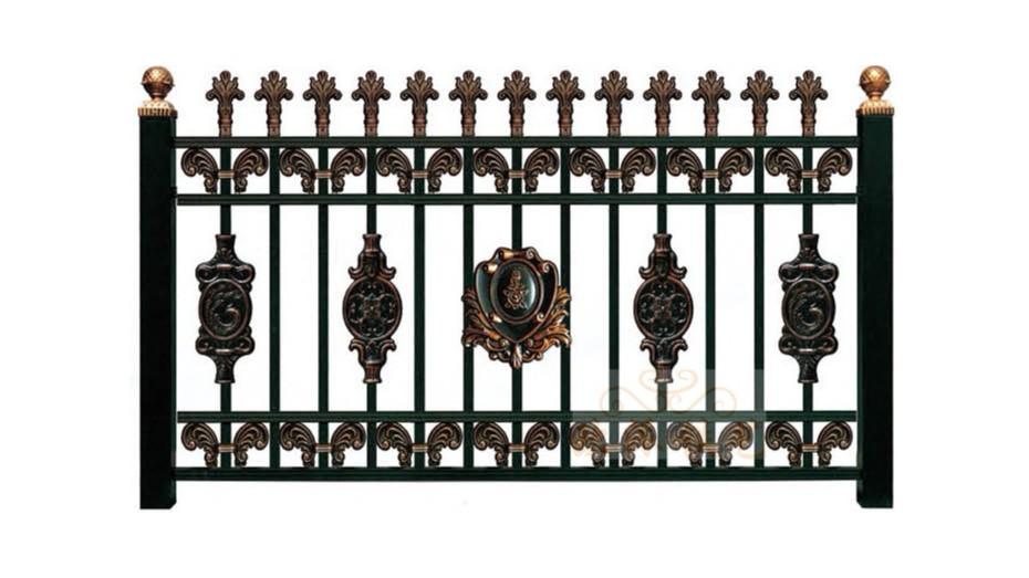 锌钢烤漆围栏8019