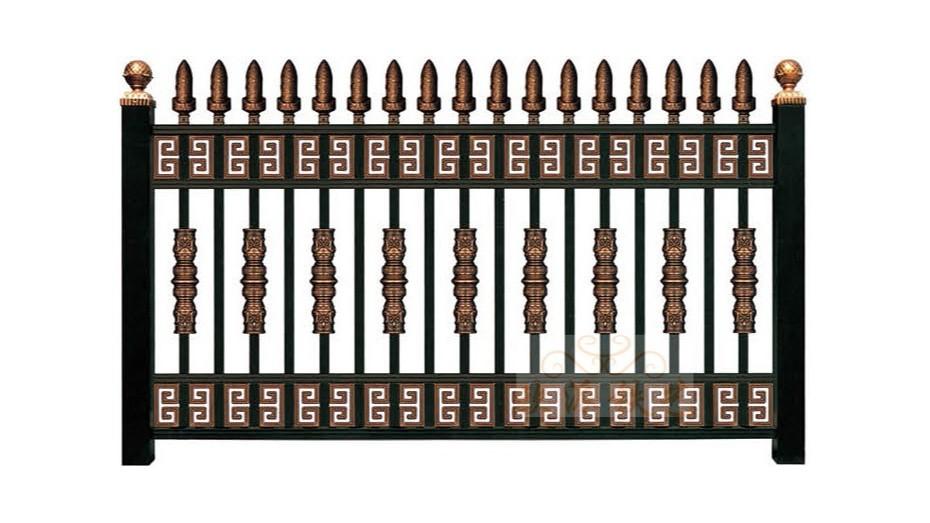 锌钢烤漆围栏8021