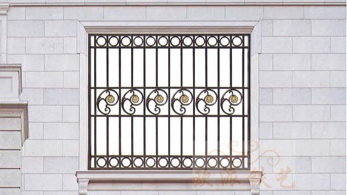 铝艺防护窗8051