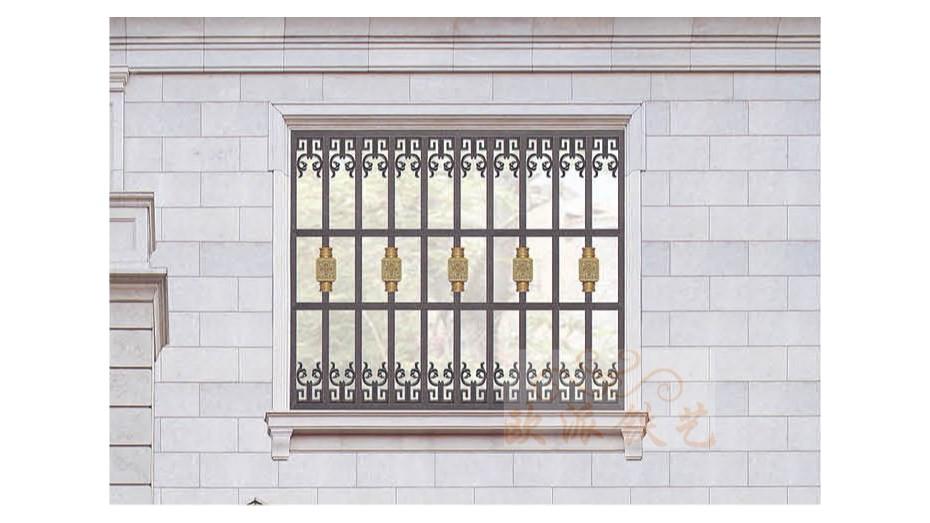 铝艺防护窗8052