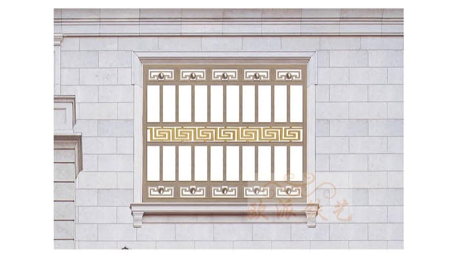 铝艺防护窗8053