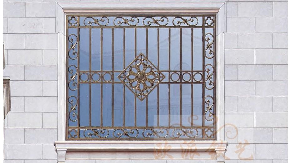 铝艺防护窗8050