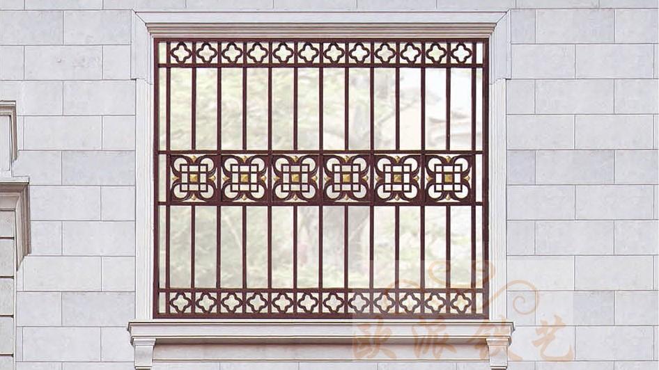 铝艺防护窗8055