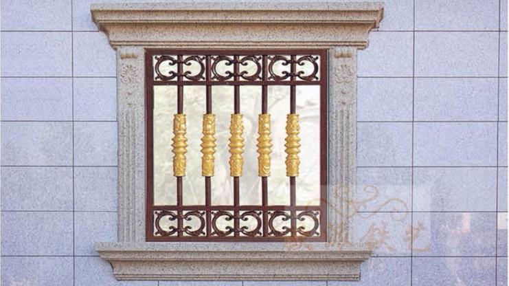 铝艺防护窗8056