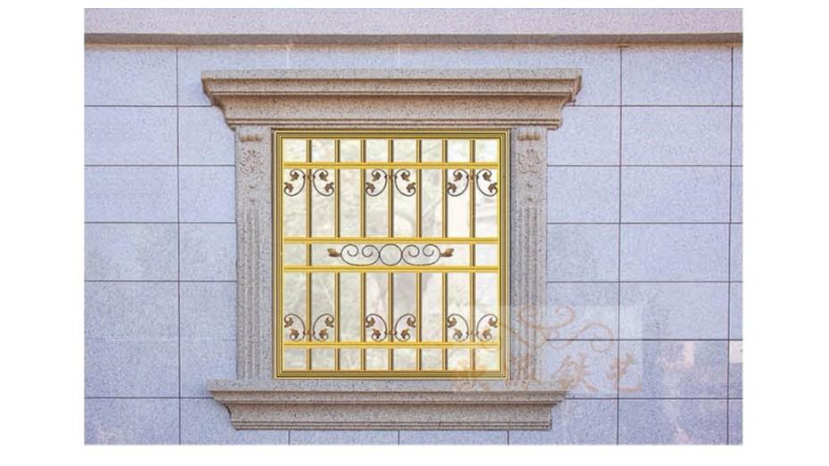 铝艺防护窗8057