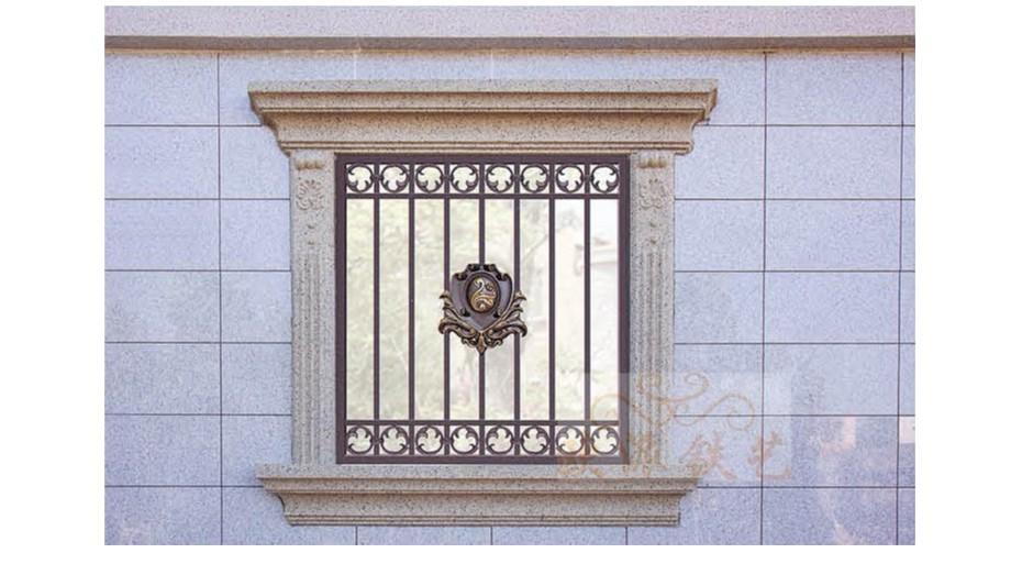 铝艺防护窗8058