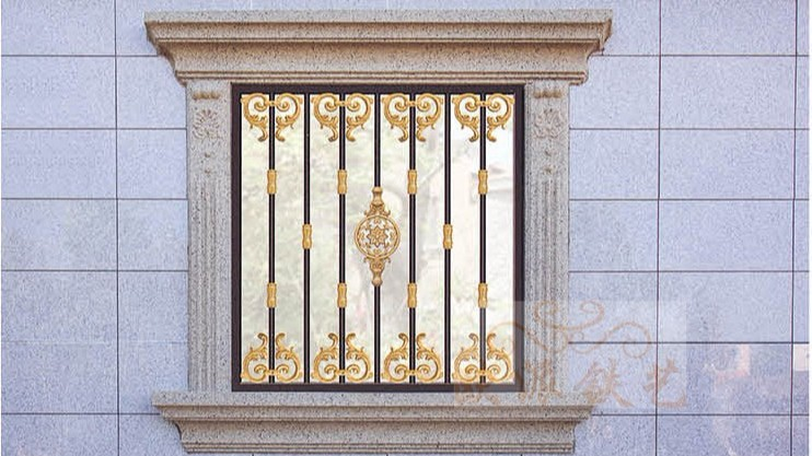 铝艺防护窗8061