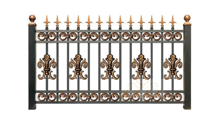 锌钢烤漆围栏8015