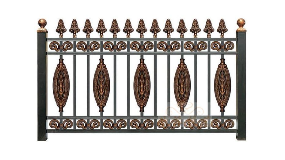 锌钢烤漆围栏8018